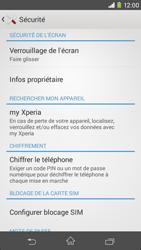 Sony Xpéria M2 - Sécuriser votre mobile - Personnaliser le code PIN de votre carte SIM - Étape 5