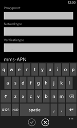 Nokia Lumia 925 - MMS - handmatig instellen - Stap 9