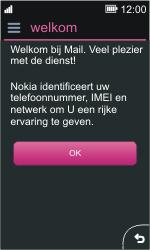 Nokia Asha 311 - E-mail - e-mail instellen: IMAP (aanbevolen) - Stap 4