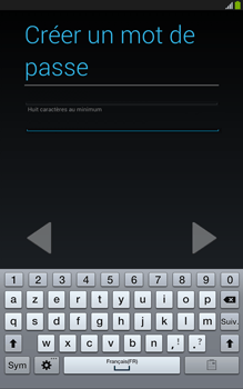 Samsung Galaxy Tab 3 8 4G - Premiers pas - Créer un compte - Étape 16
