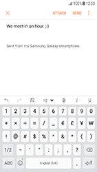Samsung Galaxy J3 (2017) - E-mail - Sending emails - Step 11