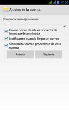 BQ Aquaris 5 HD - E-mail - Configurar correo electrónico - Paso 17