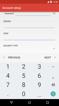 Motorola Nexus 6 - Email - Manual configuration - Step 17