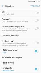 Samsung Galaxy A3 (2017) - Internet no telemóvel - Como ativar os dados móveis -  5