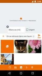 Motorola Moto G5 - MMS - Envoi d