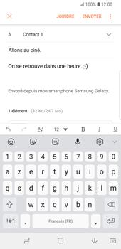 Samsung Galaxy S9 - E-mails - Envoyer un e-mail - Étape 18