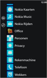 Nokia Lumia 710 - Voicemail - handmatig instellen - Stap 3
