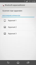 Sony D5803 Xperia Z3 Compact - Contactgegevens overzetten - delen via Bluetooth - Stap 11