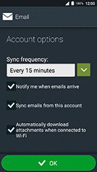 Doro 8035 - Email - Manual configuration IMAP without SMTP verification - Step 18