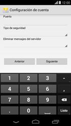 Motorola Moto X (2ª Gen) - E-mail - Configurar correo electrónico - Paso 10