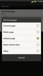 HTC Z520e One S - Internet - Manual configuration - Step 20