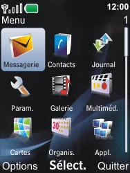 Nokia 6600i slide - Messagerie vocale - Configuration manuelle - Étape 3