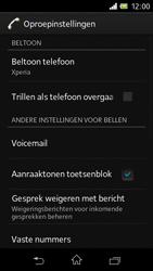Sony C1905 Xperia M - Voicemail - handmatig instellen - Stap 6
