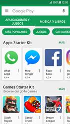 Samsung Galaxy S7 - Android Nougat - Aplicaciones - Descargar aplicaciones - Paso 6