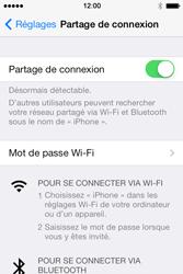 Apple iPhone 4 - Internet et connexion - Partager votre connexion en Wi-Fi - Étape 8