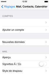 Apple iPhone 4 S iOS 7 - E-mail - Configuration manuelle - Étape 28