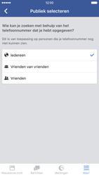 Apple iPhone 6 met iOS 9 (Model A1586) - Privacy - Privacy instellingen van Facebook aanpassen - Stap 29