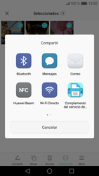 Huawei P9 - Bluetooth - Transferir archivos a través de Bluetooth - Paso 8