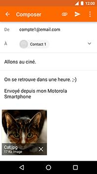 Motorola Moto E4 Plus - E-mails - Envoyer un e-mail - Étape 15