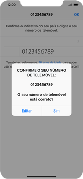 Apple iPhone XS Max - Aplicações - Como configurar o WhatsApp -  10