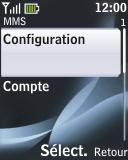 Nokia 2330 classic - MMS - configuration automatique - Étape 13