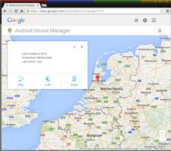 Samsung Galaxy Tab S2 9.7 - Android Nougat - Beveilig je toestel tegen verlies of diefstal - Maak je toestel eenvoudig BoefProof - Stap 4