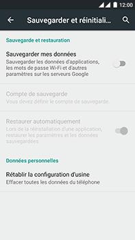 OnePlus 2 - Device maintenance - Retour aux réglages usine - Étape 6
