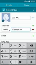 Samsung Galaxy A3 (A300FU) - Contact, Appels, SMS/MMS - Ajouter un contact - Étape 9