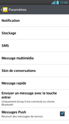 LG D505 Optimus F6 - SMS - Configuration manuelle - Étape 6