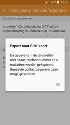 Samsung Galaxy J3 (SM-J320FN) - Contacten en data - Contacten kopiëren van toestel naar SIM - Stap 9
