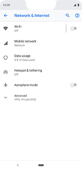 Google Pixel 3XL - Network - Usage across the border - Step 5