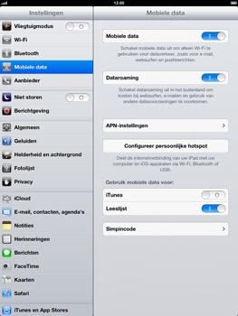 Apple iPad 4 - Internet - Internet gebruiken in het buitenland - Stap 7