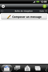 HTC A510e Wildfire S - E-mail - envoyer un e-mail - Étape 3