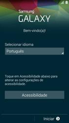 Samsung G900F Galaxy S5 - Primeiros passos - Como ativar seu aparelho - Etapa 5