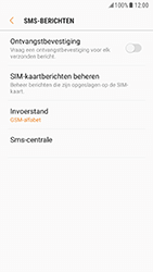 Samsung Galaxy S7 - Android Nougat - SMS - handmatig instellen - Stap 8