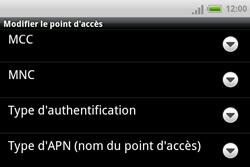 HTC A810e ChaCha - Internet - Configuration manuelle - Étape 10