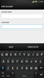 HTC One - E-mail - Manual configuration - Step 17