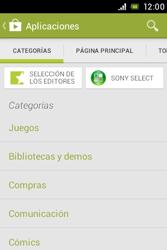 Sony Xperia E - Aplicaciones - Descargar aplicaciones - Paso 6