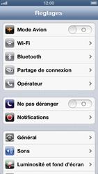 Apple iPhone 5 - MMS - configuration manuelle - Étape 4