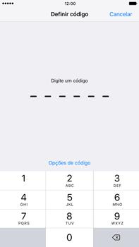 Apple iPhone 7 Plus - Segurança - Ativar o código de bloqueio do ecrã -  5
