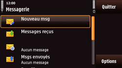 Nokia N97 Mini - E-mail - envoyer un e-mail - Étape 3