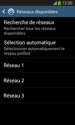 Samsung I8200 Galaxy SIII Mini Lite - Réseau - Utilisation à l