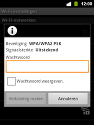 Alcatel OT-903 - WiFi - Handmatig instellen - Stap 8