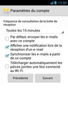 Acer Liquid Z5 - E-mail - Configuration manuelle - Étape 16