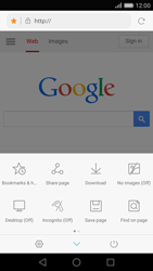 Huawei P8 - Internet - Internet browsing - Step 15