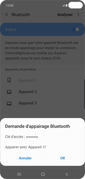 Samsung Galaxy S10 Plus - Bluetooth - connexion Bluetooth - Étape 10