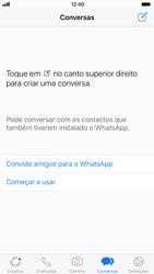 Apple iPhone 6s - iOS 11 - Aplicações - Como configurar o WhatsApp -  14