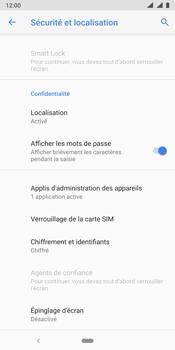 Nokia 9 - Sécurité - modifier SIM PIN - Étape 6