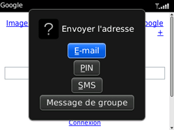 BlackBerry 8520 Curve - Internet - Navigation sur internet - Étape 13