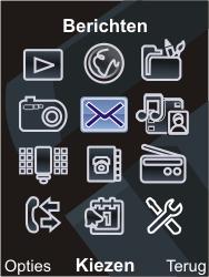 Sony Ericsson C903 - E-mail - Hoe te versturen - Stap 3